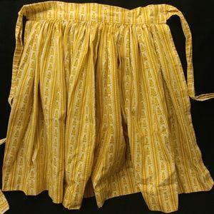 "Vintage Waverly, ""Bi-Centennial heirlooms"" apron"